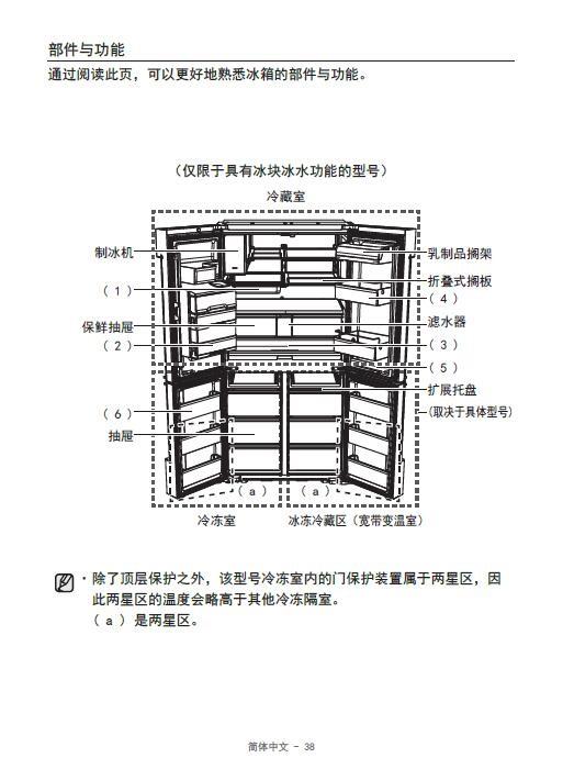 三星RF54J9950XB电冰箱使用说明书