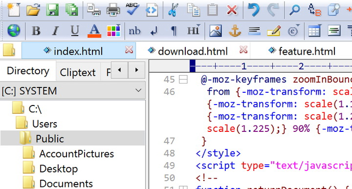 EditPlus(64bit)截图1