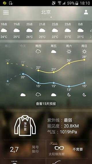 中国天气通电脑版截图1