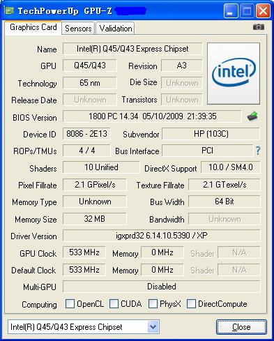 GPU-Z截图2