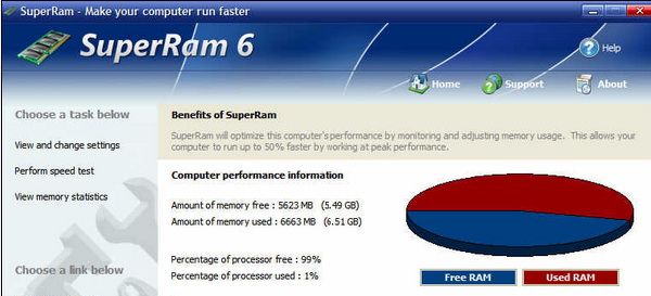 superram(内存释放器)截图2