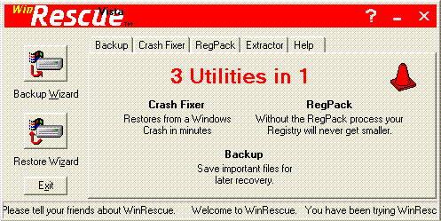 WinRescue Vista截图1