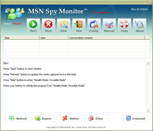 MSN Spy Monitor截图1