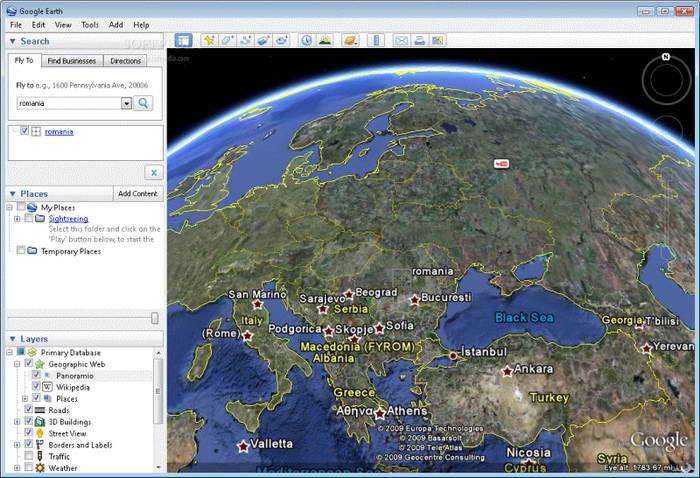 Google Earth截图1