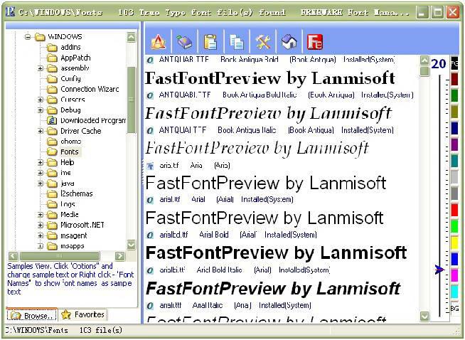 FastFontPreview截图1