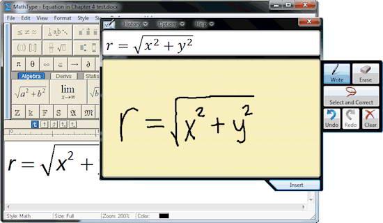 MathType截图1