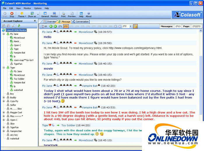 Colasoft MSN Monitor截图1