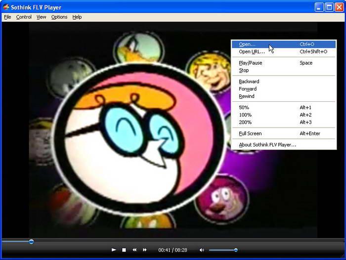 Sothink FLV Player截图1