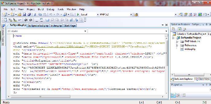 VS.Php for Visual Studio截图1