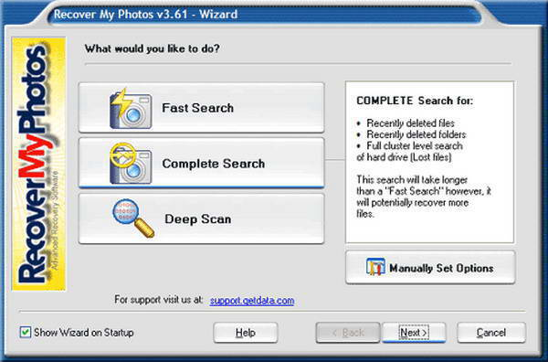 GetData Recover My Photos截图1