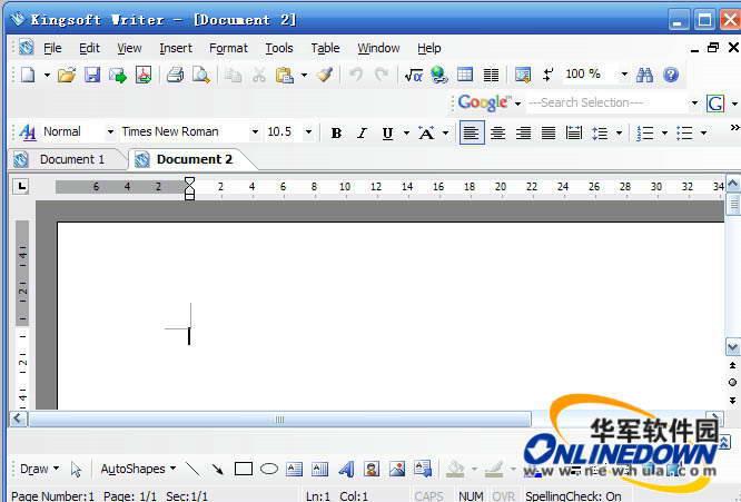 Kingsoft Office 2009截图1