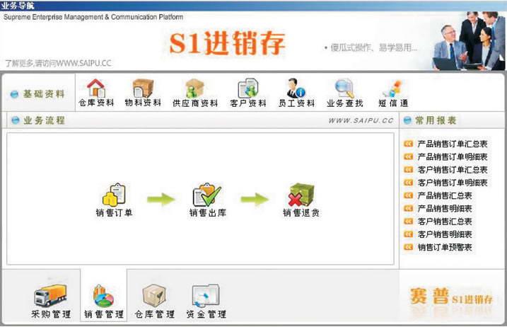 赛普进销存软件_S1系列