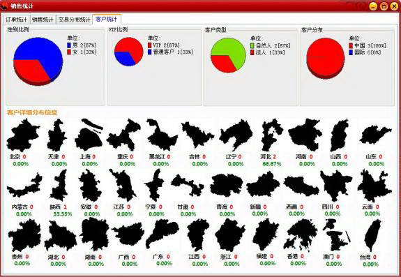 商品销售记账系统截图2