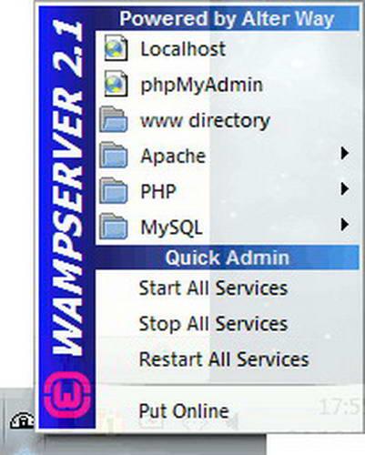 WampServer截图1