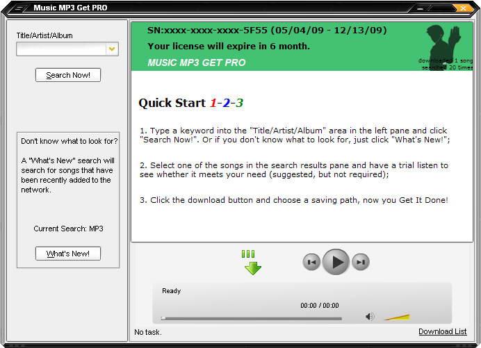 Music MP3 Get截图1