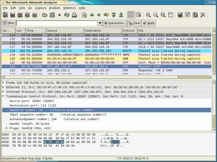 Wireshark For Unix截图1