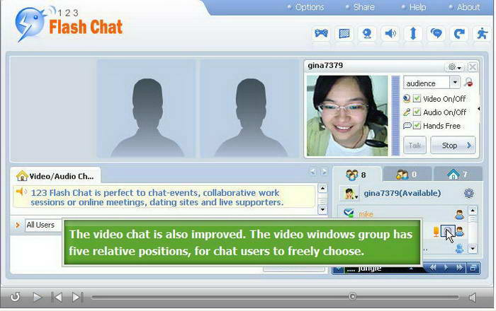 123 Flash Chat Server For Linux截图1