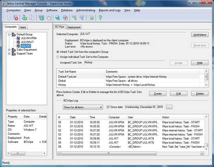 BCWipe For UNIX截图1