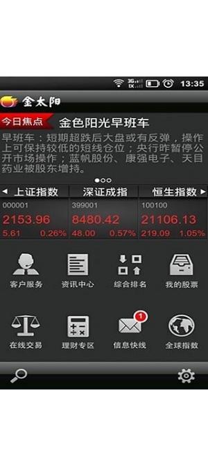 金太阳炒股软件截图4