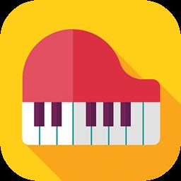 弹吧钢琴陪练LOGO