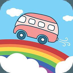 彩虹公交LOGO