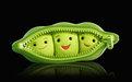 可爱豌豆桌面主题—魔秀