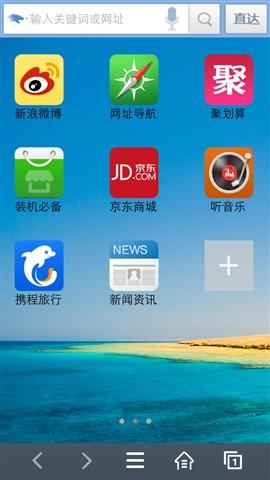 儒豹4G浏览器截图3