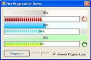 Softgroup .Net Progress Bar 绿色版
