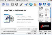 4Leaf DVD to AVI Converter