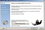 EZ Backup Adobe Premiere Pro