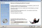 EZ Backup WordPerfect Premium
