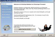 EZ Backup Windows Live Messenger Premium