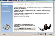 EZ Backup IE and Windows Mail Pro