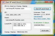Get IP and Host