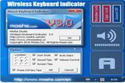 无线键盘指示灯
