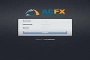 外汇交易软件ACFX MT4(iPad版)