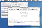 TeXShop For MACLOGO