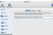 iWeb SEO Tool For Mac