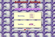 Animated Spelling