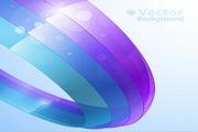三维彩色圆环矢量素