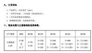 妙王MW-LJK200零序电流互感器使用说明书