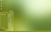 PCTheme简约清爽绿色背景xp主题