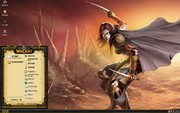 PCTheme经典游戏魔兽世界xp主题