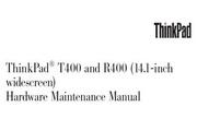 IBM(ThinkPad) ThinkPad T400 说明书