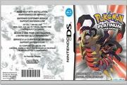 任天堂 Pokémon Platinum Version说明书