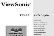 优派VX912液晶显示器简体中文版说明书