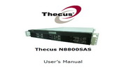 Thecus色卡司N8800SAS网络存储器说明书1.4版
