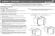 雅马哈 HAF2-3115(W) 钢琴/电子琴 说明书