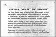 Fender Concert (1965)说明书