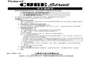罗兰 CUBE Street: 立体声音箱说明书